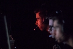 "Dillon Price, also known as ""FaZe Attach"" (red) and his teammates of the FaZe Clan prepare for their day of matches at the Call of Duty World League: Anaheim Open on June 16, 2018. In the Call of Duty World League, players compete for a grand total of $4,800,000 over the course of 12 live events. The events are comprised of 6 open events, like Anaheim, where any group of 4 individuals can show up, buy a competitors pass, and play for their share of a $200,000 prize pool (First place $80,000 per team). Along with money, players accumulate ""pro points"" for their placings. Pro points are the determining factor in which teams are selected to compete in the Call of Duty Pro League. Being in the Pro League gains players access to larger scale tournaments where they can earn more money, and pro points. Each season, all of the players hard works leads up to the Call of Duty Championships. The biggest tournament of the year with a prize pool to go along with it. A grand total of $1,500,000 will be awarded to teams who finish within the top 8. With the first place team winning $600,000."